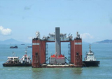 The first part integrated buried pier of the hong kong-zhuhai-macao bridge